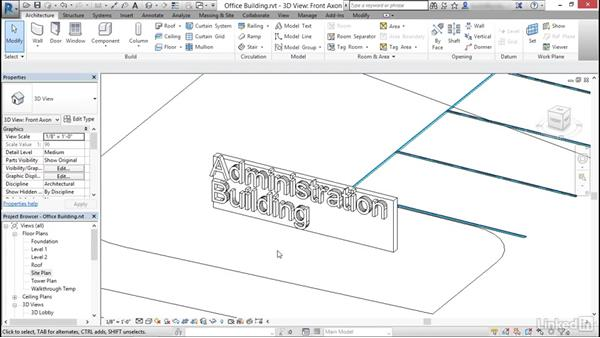 Create model text: Revit: Create Signage Plans