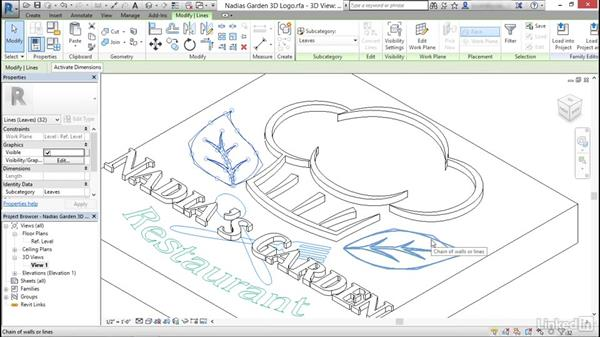 Create logos and smooth text: Revit: Create Signage Plans