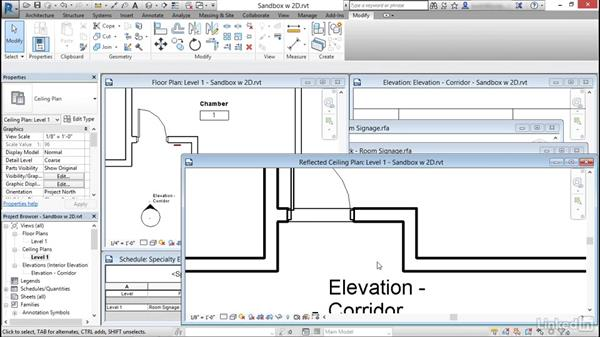 Control location and visibility: Revit: Create Signage Plans