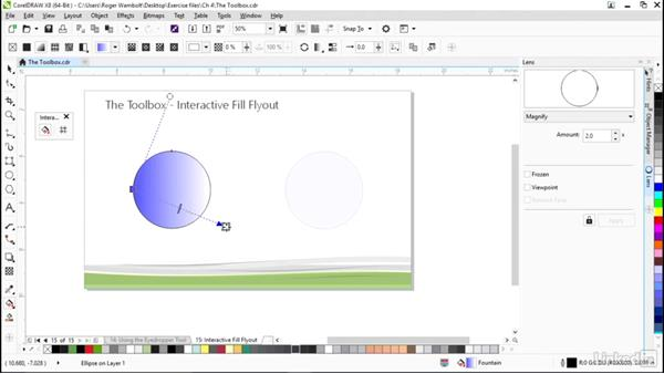 Other interactive tools: CorelDRAW X8 Essential Training