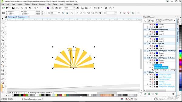 Solution: Create a lighthouse logo: CorelDRAW X8 Essential Training