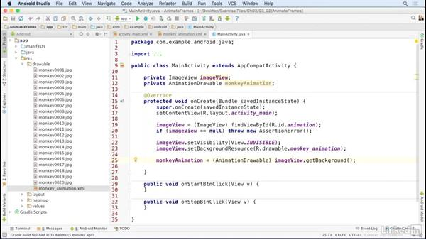 Launch frame animations with Java: Animations and Transitions in the Android SDK