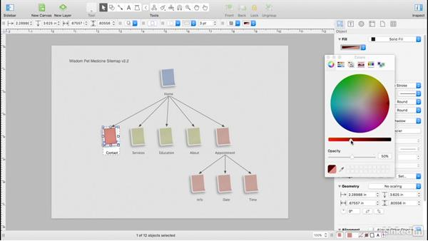 Customize stencil shapes: UX Design Tools: OmniGraffle 6