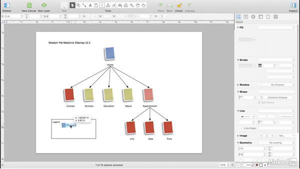 Make a legend: UX Design Tools: OmniGraffle 6