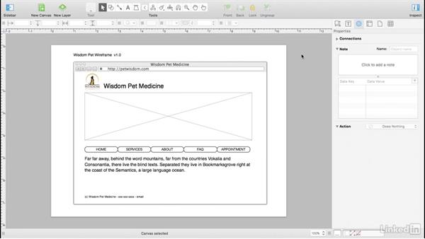 What is a wireframe?: UX Design Tools: OmniGraffle 6