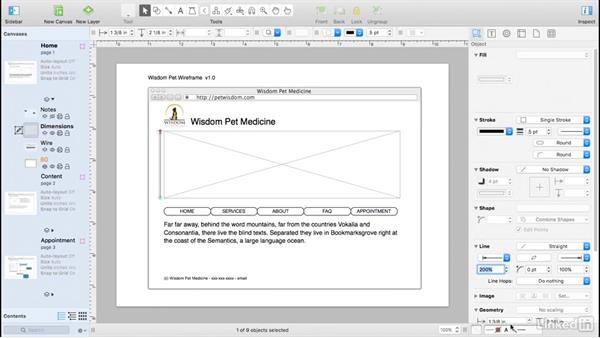 Add pixel dimensions: UX Design Tools: OmniGraffle 6