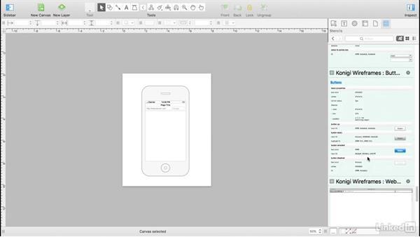 Mobile wireframes: UX Design Tools: OmniGraffle 6