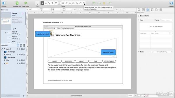 Add interactivity: UX Design Tools: OmniGraffle 6