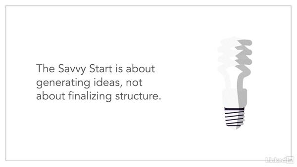 How to run a Savvy Start: Agile Instructional Design