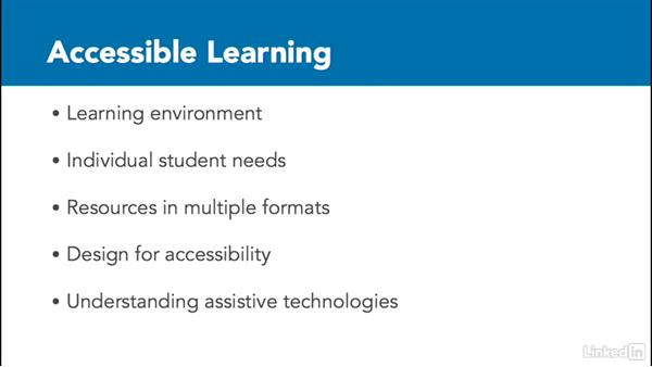 Welcome: How to Make Accessible Learning