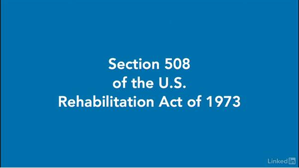 Accessibility legislation: IEP, Section 504, and Section 508: How to Make Accessible Learning