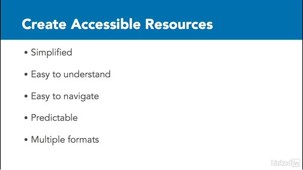 Cognitive function issues: How to Make Accessible Learning