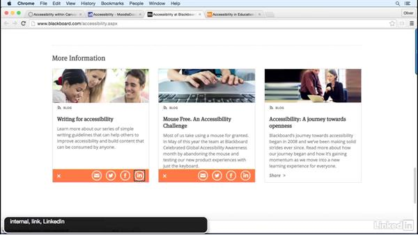Learning management systems and accessibility: How to Make Accessible Learning