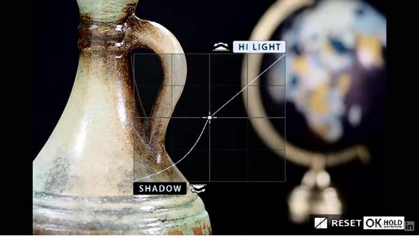Adjusting the gamma curve: Olympus OM-D Cameras: Tips and Techniques