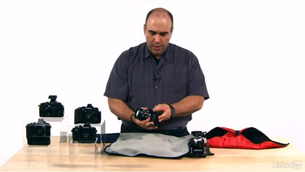Using a camera wrap: Olympus OM-D Cameras: Tips and Techniques