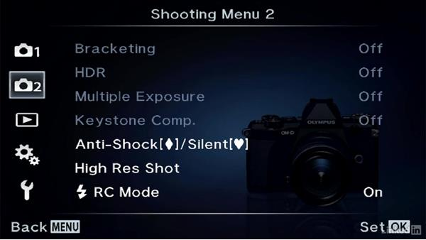 Silent shooting: Olympus OM-D Cameras: Tips and Techniques