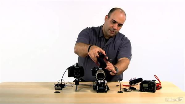 Attaching an external microphone to the camera: Olympus OM-D Cameras: Tips and Techniques