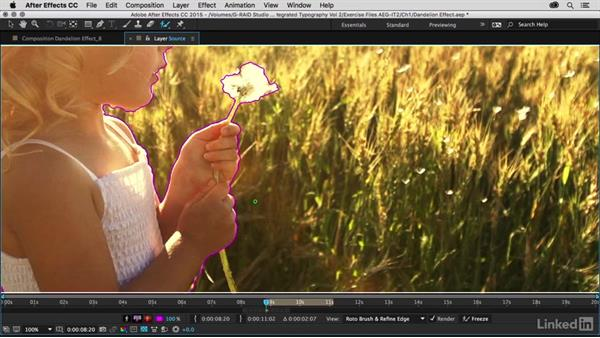 Rotoscoping with the Roto Brush: After Effects Guru: Integrating Type into Video Volume 2