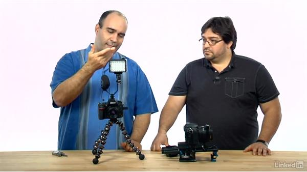 Connecting gear: DSLR Video Tips: Audio