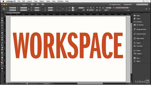 Creating a typographic workspace: InDesign Typography Part 1