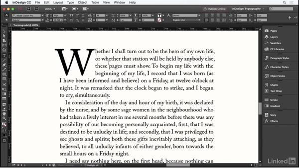Kerning: InDesign Typography Part 1