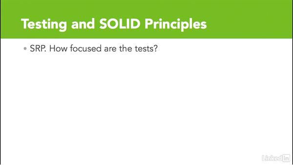 Test-driven design: S.O.L.I.D. Programming Principles
