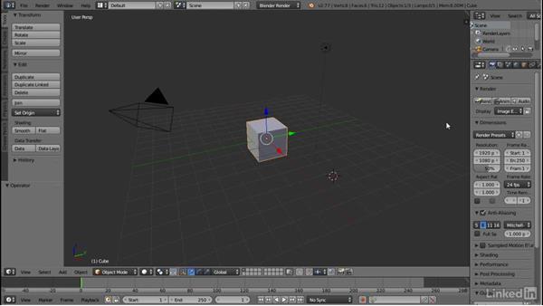 Activating the Maya controls: Blender: Interior Environments for Games