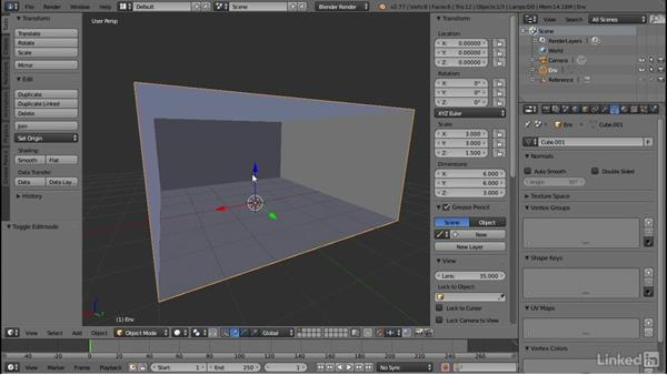Blocking out the environment: Blender: Interior Environments for Games