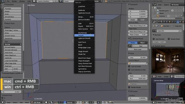 Refining the window wall: Blender: Interior Environments for Games