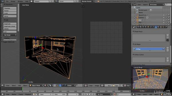 Preparing for texture painting: Blender: Interior Environments for Games