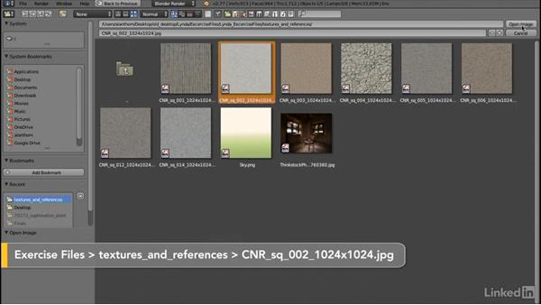 Loading image textures: Blender: Interior Environments for Games