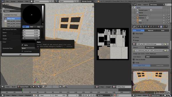 Configuring layer blending: Blender: Interior Environments for Games