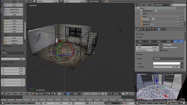 Building scene lighting: Blender: Interior Environments for Games