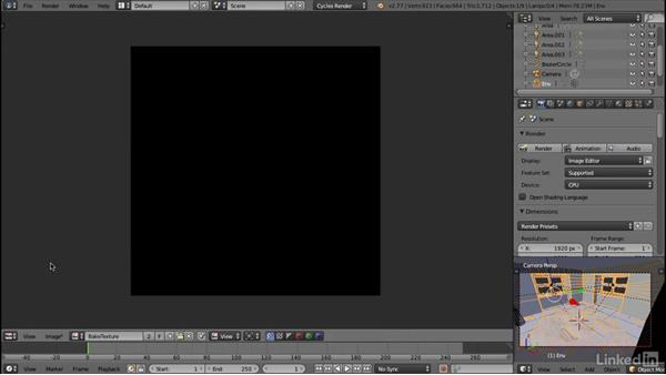 Baking a composite texture: Blender: Interior Environments for Games