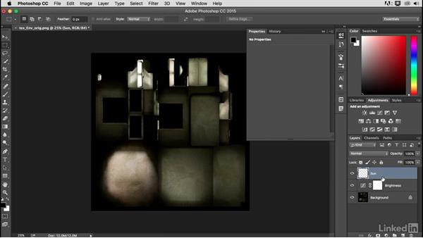 Texture enhancing in Photoshop: Blender: Interior Environments for Games