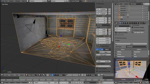 Exporting from Blender to Unity: Blender: Interior Environments for Games