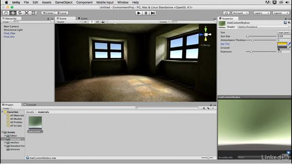 Creating a skybox: Blender: Interior Environments for Games