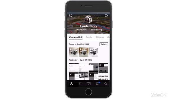 Use a card reader with your mobile device: Flickr Mobile: Photo Sharing Anywhere
