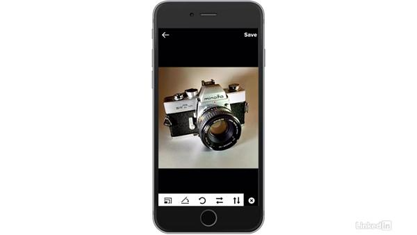Crop, rotate, and straighten: Flickr Mobile: Photo Sharing Anywhere
