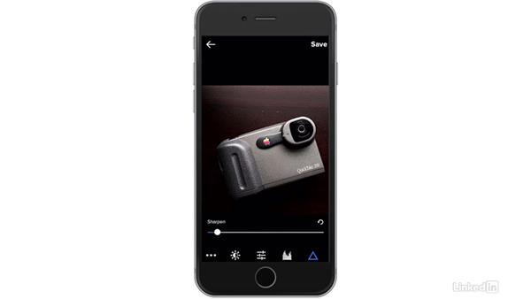 Sharpen an image: Flickr Mobile: Photo Sharing Anywhere