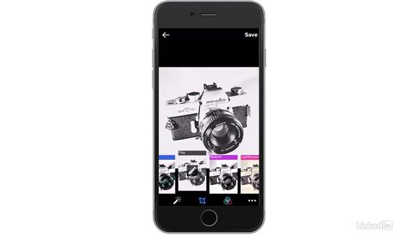 Apply filters: Flickr Mobile: Photo Sharing Anywhere