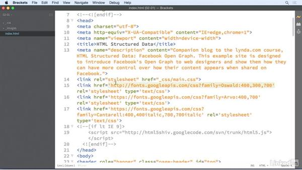 Blog post structure review: HTML Structured Data: Facebook Open Graph
