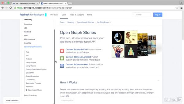 Open Graph namespaces: HTML Structured Data: Facebook Open Graph