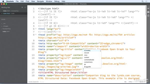 Image properties: HTML Structured Data: Facebook Open Graph