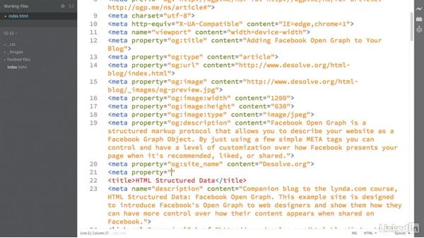 Defining a publish date: HTML Structured Data: Facebook Open Graph