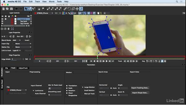 Track the screen: After Effects: Compositing a Cell Phone