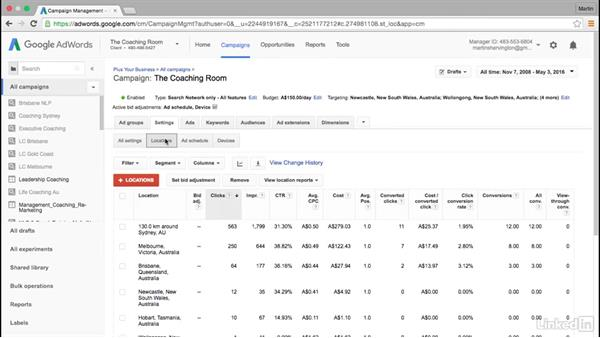 Overview of bid adjustments for showrooming: A use case: Intermediate Google AdWords
