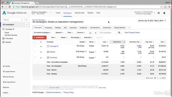 How to connect your Google My Business account: Intermediate Google AdWords
