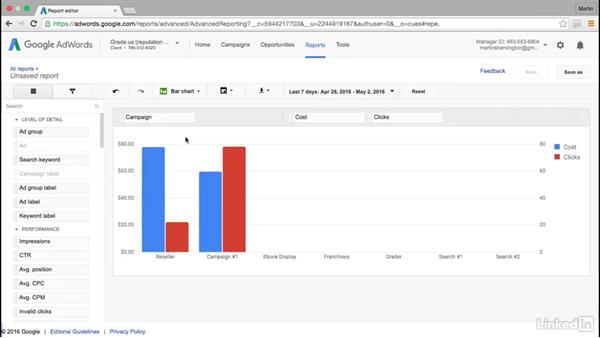 Latest reporting features in AdWords: Intermediate Google AdWords