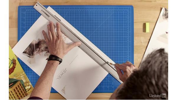 Making a full-page ad mockup: Making 2D Presentation Materials and Mockups